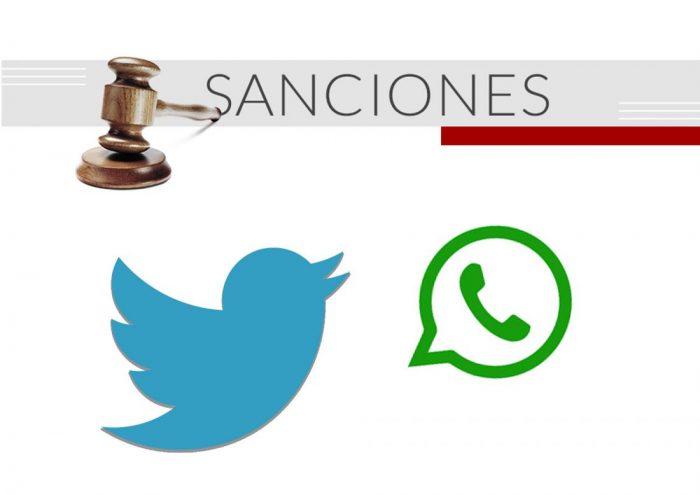 Sanciones-twitter-y-whatsapp