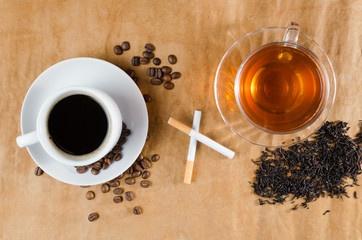 Disminuye la cafeína y el tabaco