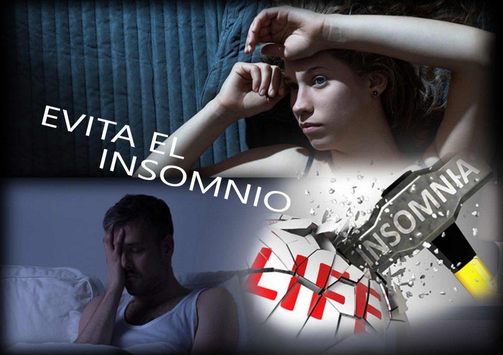 Evita el insomnio