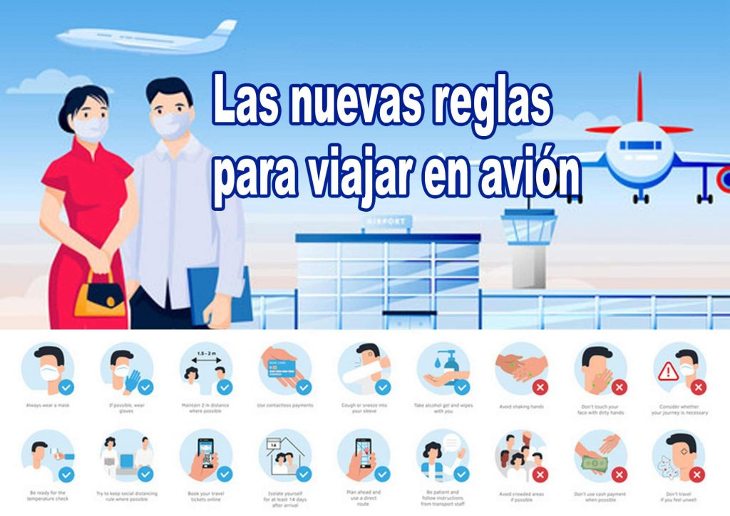 las nuevas reglas para viajar en avión