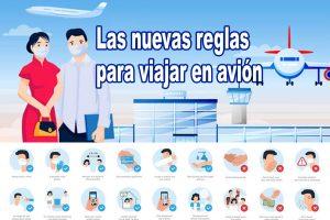 Medidas para viajar en avión en la nueva normalidad